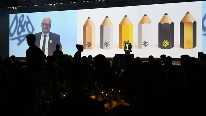 D&AD Empty Their Pencil Case At The 53rd Annual Awards
